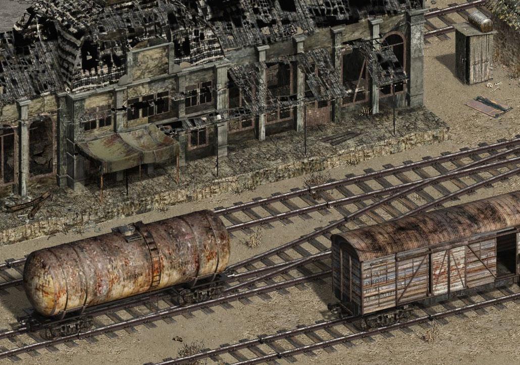 Железнодорожное депо Screen14
